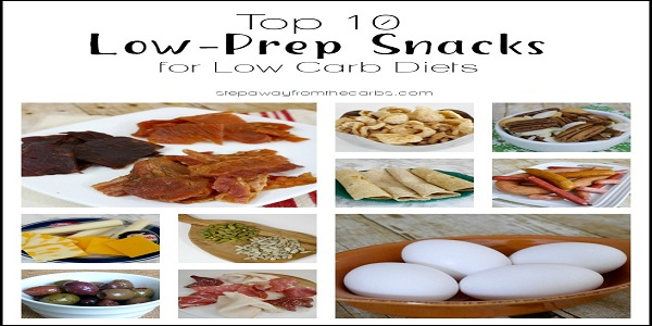 Low Carb Foods - Snacking Low Carb