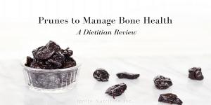 Osteoporosis - Soft Plums Harden Bones